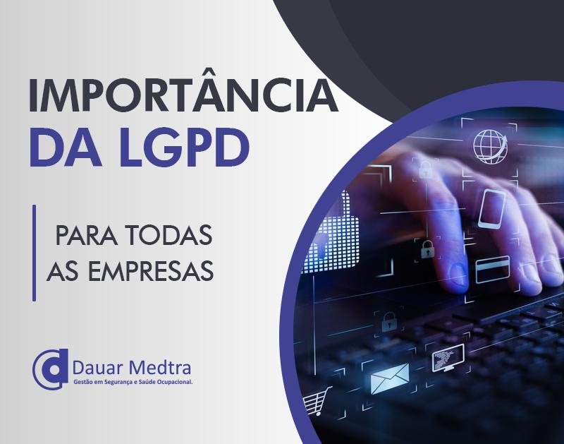 importancia da lgpd